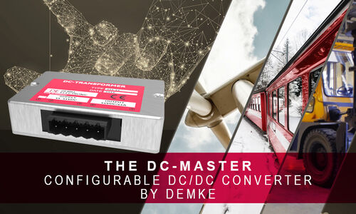Demke Electronic - DC/DC Converter - Step Up Converter - Step Down Converter - custom specific