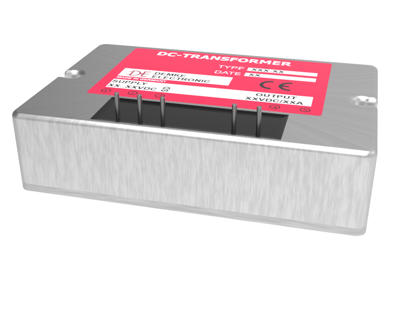 isolated DC/DC buck converter Typ DC-Transformer 355W1-12.3-SD with output voltage 12.3V, 100 watts and input voltage 16V to 100V